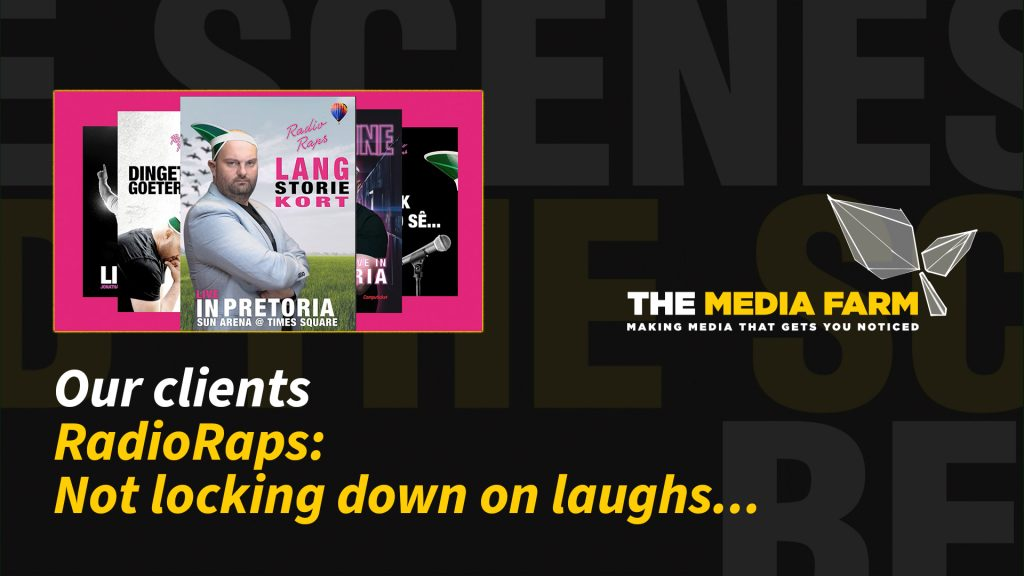 The Media Farm | Radio Raps: Not locking down on laughs...